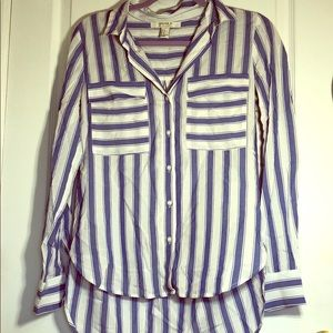 Forever 21 Stripped Long Sleeve Shirt